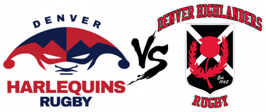 Harlequins D2 & D4 Vs. Highlanders @ Cook Park | Denver | Colorado | United States