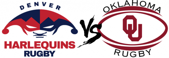 Denver Harlequins Vs. University of Oklahoma @ Parkfield Lake Park | Denver | Colorado | United States