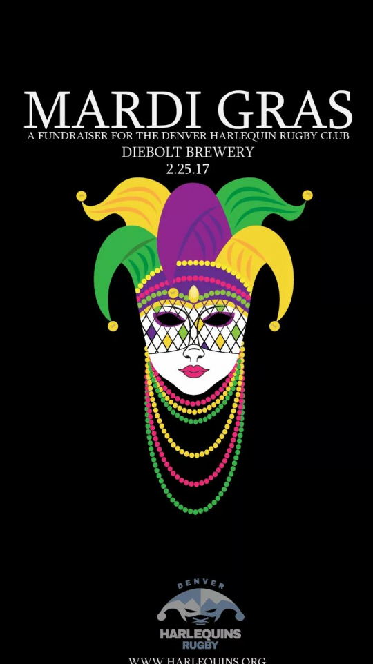 Mardi Gras Masquerade @ Diebolt Brewery | Denver | Colorado | United States