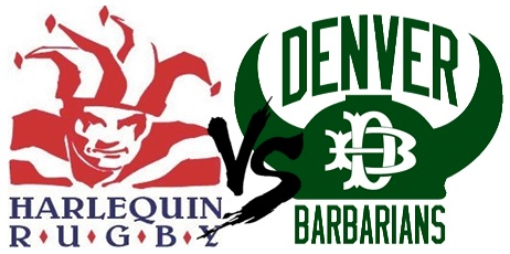 Harlequins D2 & D4 Vs. Denver Barbarians @ Parkfield Lake Park | Denver | Colorado | United States