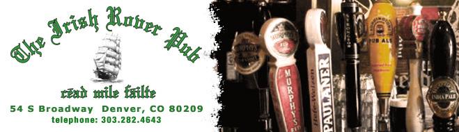 Visit the Irish Rover in Denver Colorado