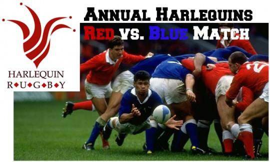 red v blue
